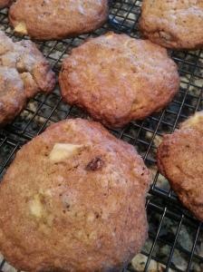 Apple - Raisin Cookies