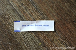 My fortune-less fortune.