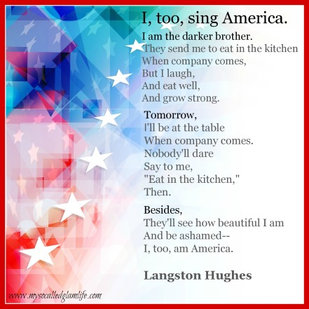 I, Too by Langston Hughes